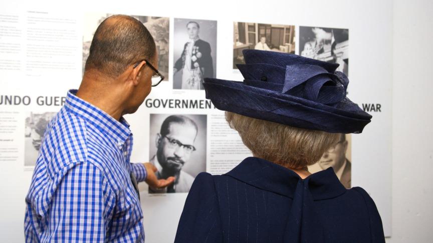Prinses Beatrix opende 'Guera na Kòrsou'