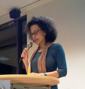 Dr Valika Smeulders opende de expositie