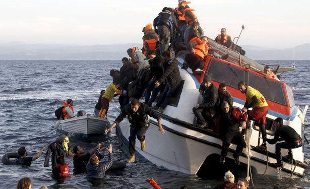 Menselijk drama voor de Griekse kust (Reuters)