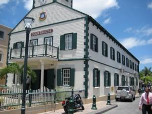 Het 'Courthouse' op Sint Maarten