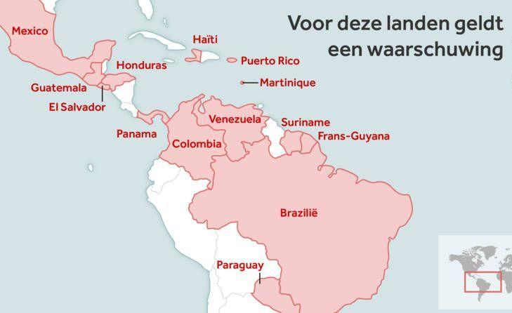 Het virus is al op Curaçao en waarschijnlijk ook op alle andere Caribische eilanden